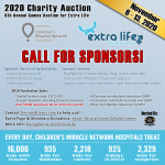 2020 Charity Auction for Extra Life: Call for Sponsors, Donations, et al. image