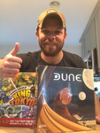 Here's Scott with his giveaway wins! image