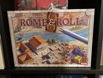 Rome & Roll: A Solo Game Review - What is a Heavy Roll & Write? image