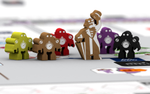 Meeples for Weather Machine, Upcoming Game from Vital Lacerda image