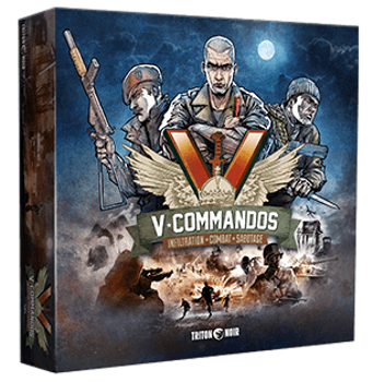 V-Commandos board game
