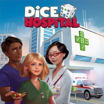 Dice Hospital board game