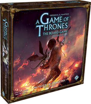 A Game of Thrones: The Board Game (Second Edition) - Mother of Dragons board game