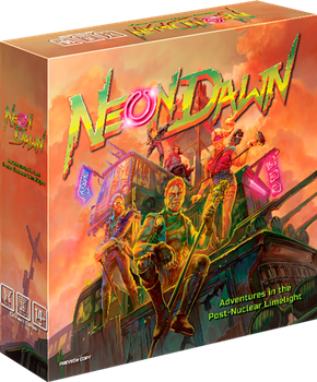 Neon Dawn board game