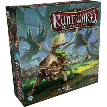 Runewars Miniatures Game: Latari Elves Army Expansion board game