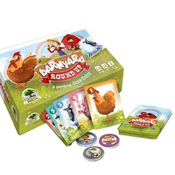 Barnyard Roundup board game