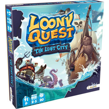 Loony Quest: The Lost City Expansion board game
