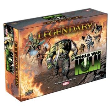 Legendary: A Marvel Deckbuilding Game - World War Hulk board game