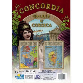 Concordia: Gallia & Corsica Expansion board game