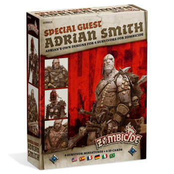 Zombicide: Black Plague - Special Guest Adrian Smith board game