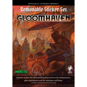 Gloomhaven Removable Sticker Set