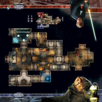 Star Wars Imperial Assault: Jabba's Palace Skirmish Map board game