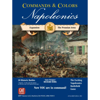 Commands & Colors: Napoleonics Expansion #4 - The Prussian Army board game