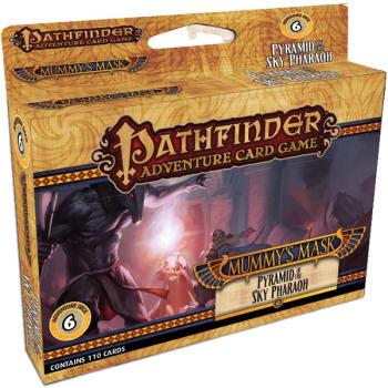Pathfinder Adventure Card Game: Mummy's Mask Adventure Deck 6 - Pyramid of the Sky Pharaoh board game