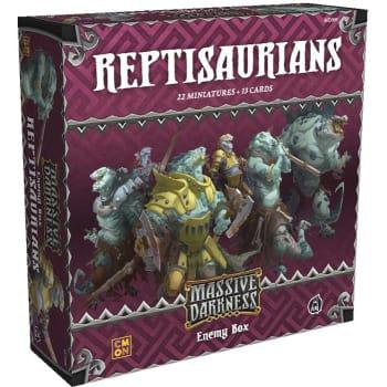 Massive Darkness: Reptisaurians Enemy Box board game