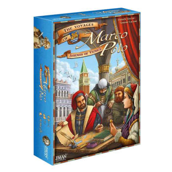 The Voyages of Marco Polo: Agents of Venice Expansion board game