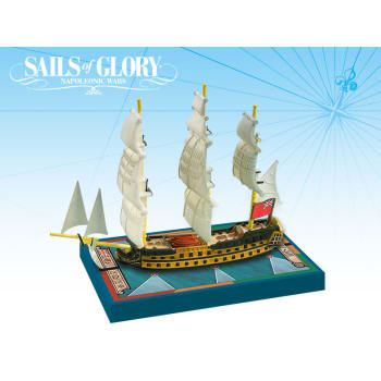 Sails of Glory: HMS Zealous 1785 Ship Pack board game