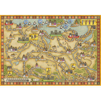 Hansa Teutonica: East Expansion board game