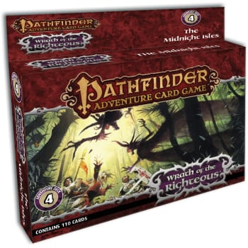 Pathfinder Adventure Card Game: Wrath of the Righteous Adventure Deck 4: The Midnight Isles board game