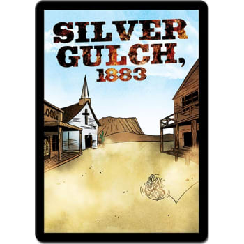 Sentinels of the Multiverse: Silver Gulch, 1883 board game