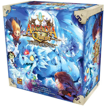 Arcadia Quest: Frost Dragon Expansion board game