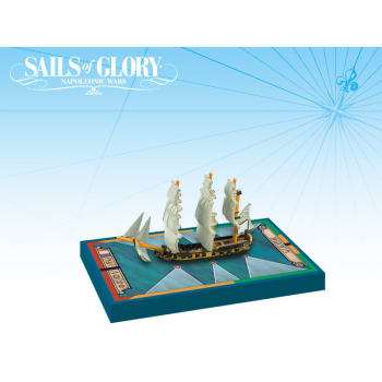 Sails of Glory: Alligator 1782 - French Ship-Sloop Ship Pack board game
