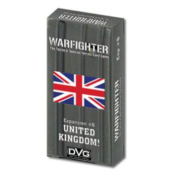 Warfighter: United Kingdom Expansion #6 board game
