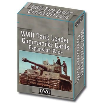 WWII Tank Leader Commander Cards board game