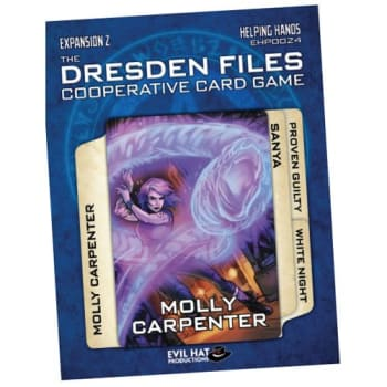 The Dresden Files Cooperative Card Game: Helping Hands Expansion #2 board game