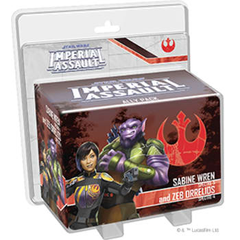 Star Wars Imperial Assault: Sabine Wren and Zeb Orrelios Ally Pack board game