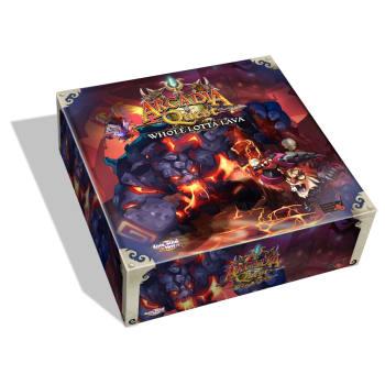 Arcadia Quest: Inferno – Whole Lotta Lava board game