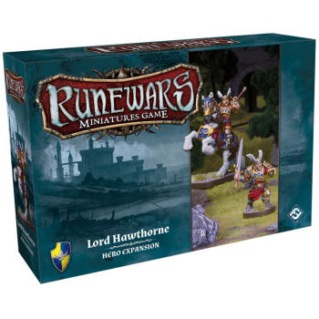 Runewars The Miniatures Game: Lord Hawthorne Expansion Pack board game