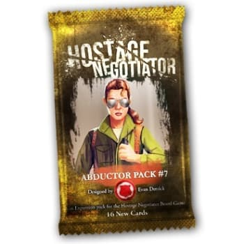 Hostage Negotiator: Abductor Pack #7 board game