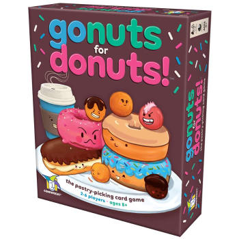 Go Nuts for Donuts! board game