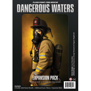 Flash Point Fire Rescue: Dangerous Waters board game