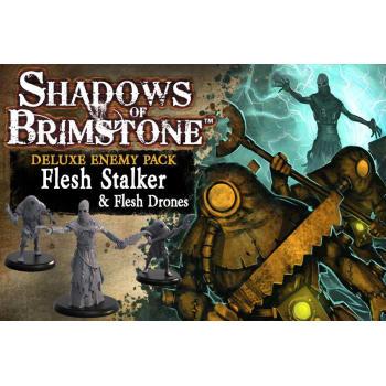 Shadows of Brimstone: Flesh Stalker & Flesh Drones Deluxe Enemy Pack board game
