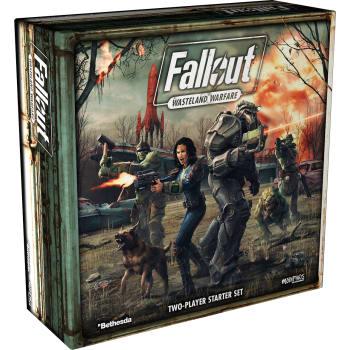 Fallout: Wasteland Warfare Two-Player Starter Set board game