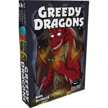 Greedy Dragons board game