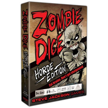 Zombie Dice: Horde Edition board game