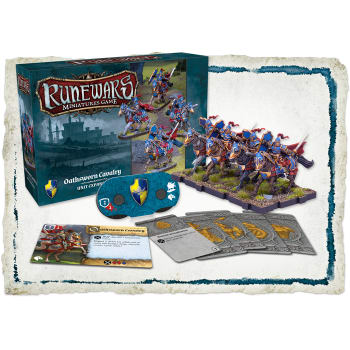 Runewars The Miniatures Game: Oathsworn Cavalry Expansion Pack board game