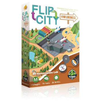 Flip City: Wilderness board game