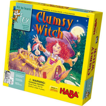 Clumsy Witch board game