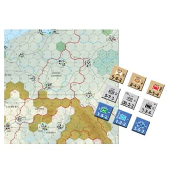 Stalin Moves West board game