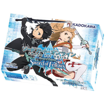 Sword Art Online Board Game: Sword of Fellows board game