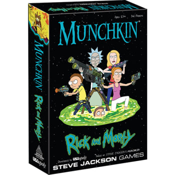 Munchkin: Rick and Morty board game
