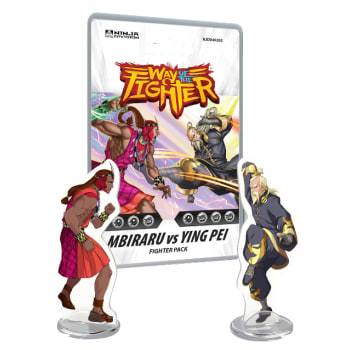 Way of the Fighter: Mbiraru vs Ying Pei board game