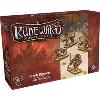 Runewars Miniatures Game: Flesh Rippers Unit Expansion board game