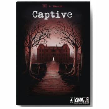 Graphic Novel Adventures: Captive board game