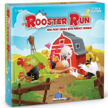 Rooster Run board game