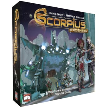 Scorpius Freighter board game